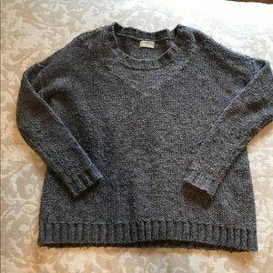 Madewell Gray Wallace Sweater, XS